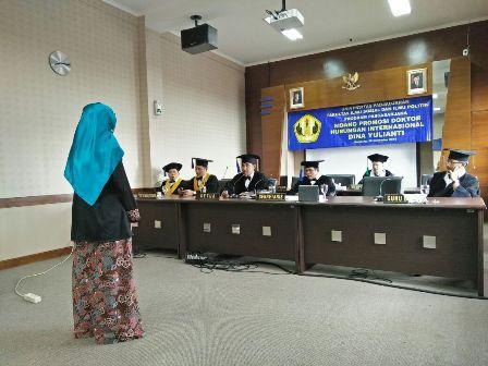 Teliti Rejim Pangan Internasional, Dina Y. Sulaeman Raih Gelar Doktor