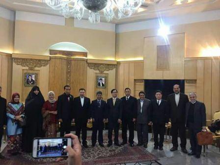 Jokowi tiba di Tehran
