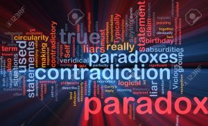 10012143-Background-concept-wordcloud-illustration-of-Paradox-contradiction-glowing-light-Stock-Illustration