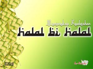 tradisi halal bihalal
