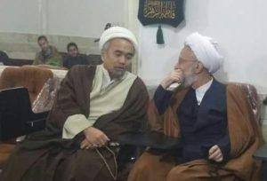 ust Abu Ammar bersama Ayatullah Misbah Yazdi